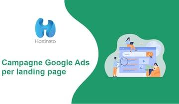 Campagne Google Ads per landing page