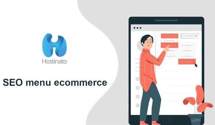 SEO menu ecommerce