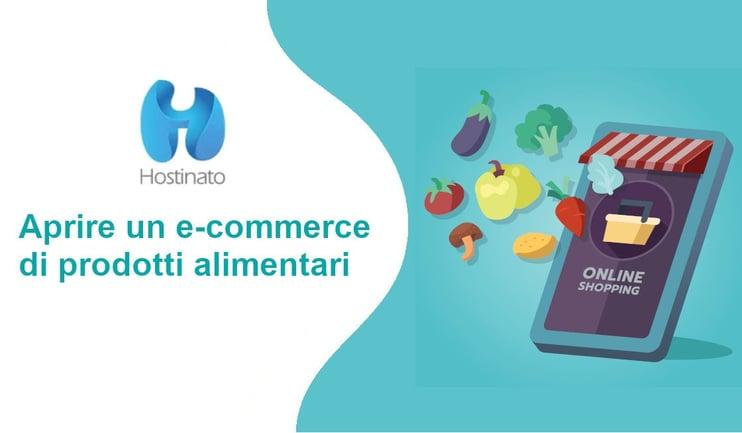 aprire ecommerce prodotti alimentari