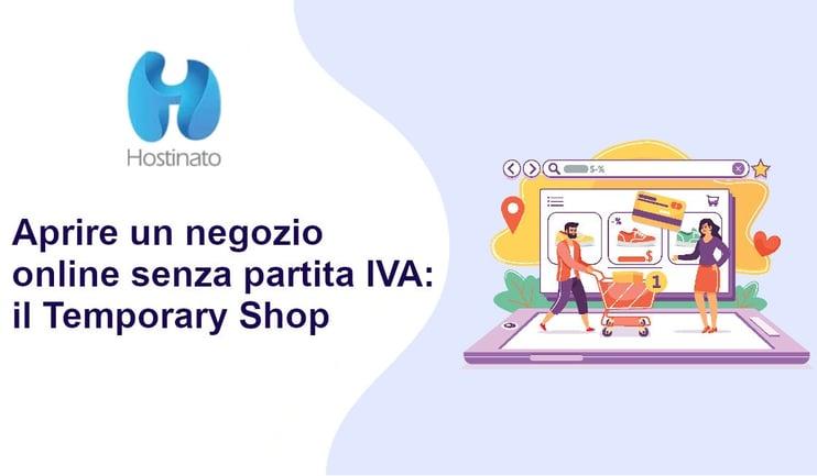 aprire negozio online senza partita iva