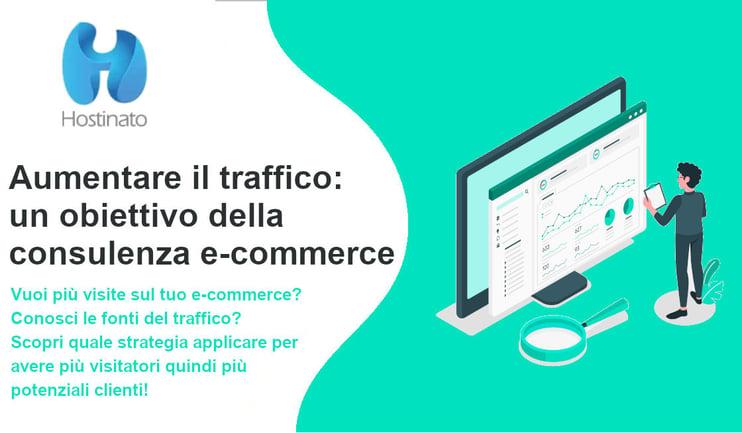 aumentare traffico ecommerce
