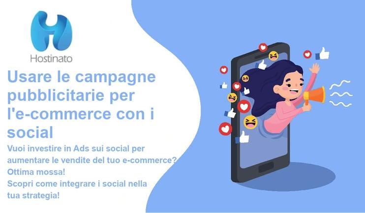 campagne pubblicitarie e-commerce social