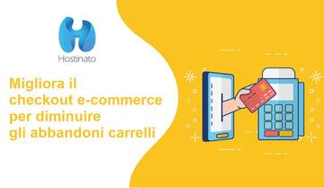 migliora checkout  e-commerce