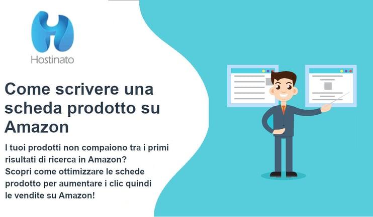 come scrivere una scheda prodotto su Amazon