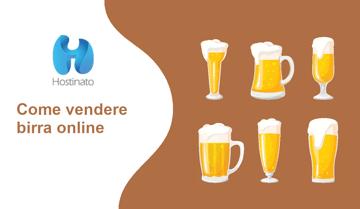 come vendere birra online