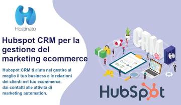 Hubspot CRM Ecommerce