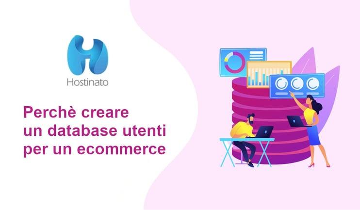 database utenti ecommerce