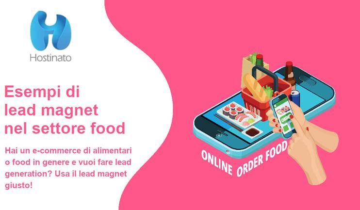 esempi lead magnet settore food