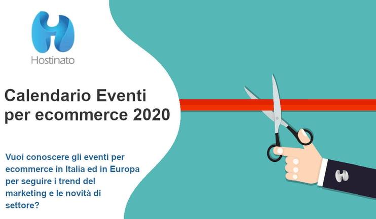 eventi ecommerce 2020