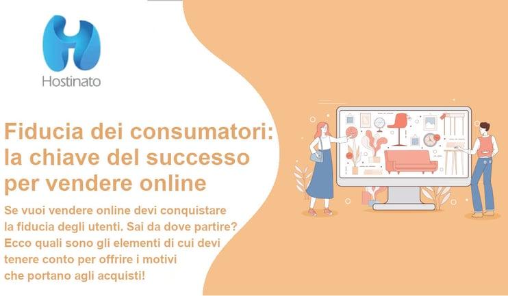 fiducia consumatori per vendere online con e-commerce