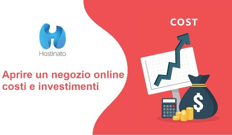 aprire un negozio online costi e investimenti