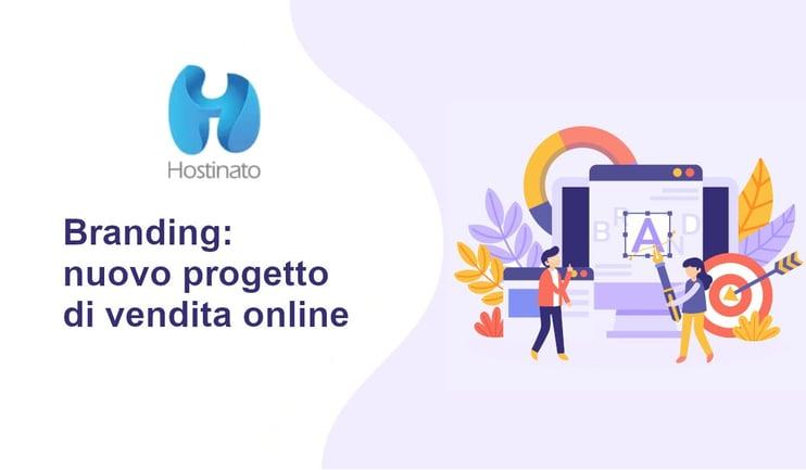 branding nuovo progetto di vendita online