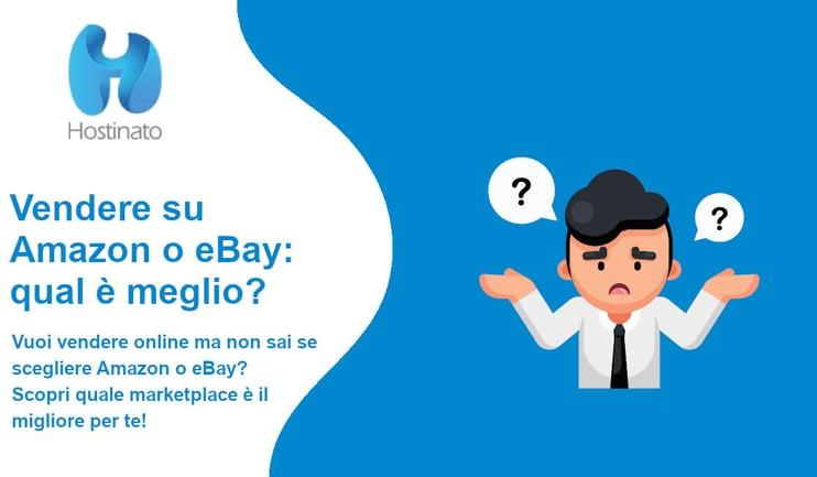 vendere amazon ebay