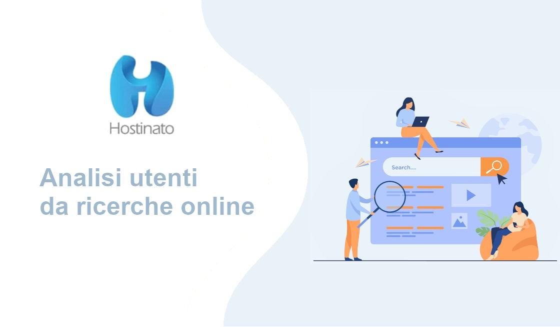 analisi utenti ricerche online