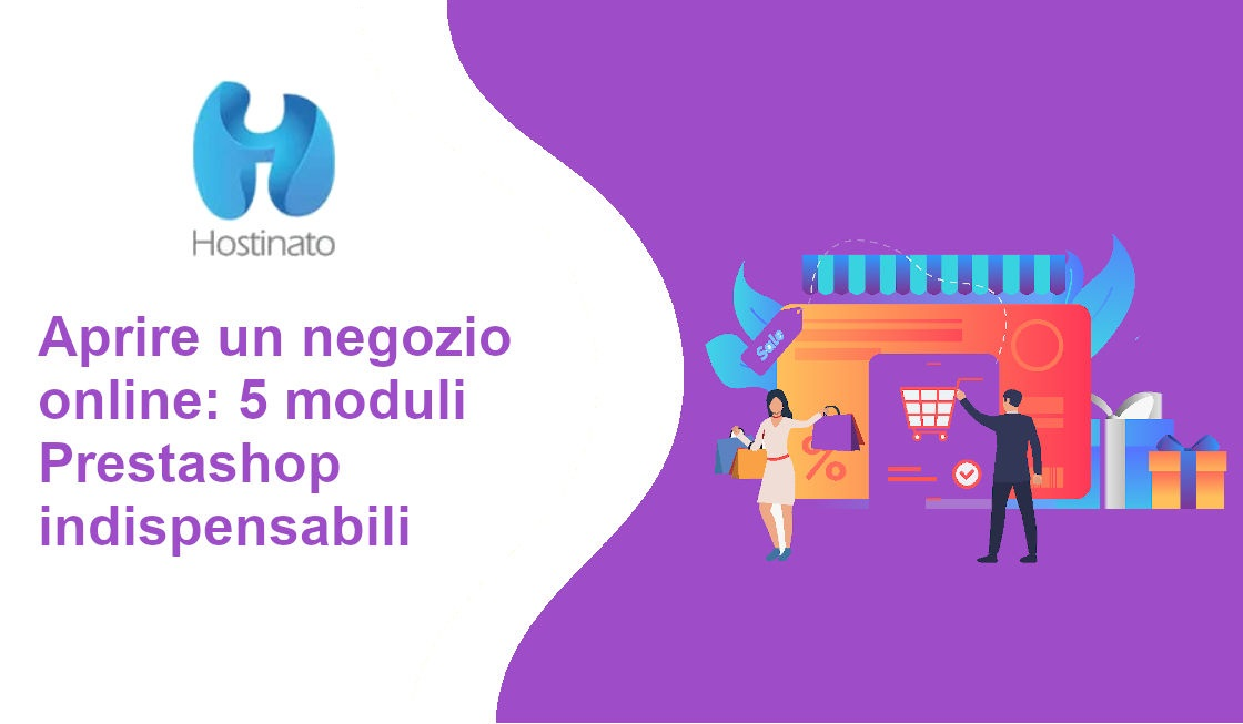 aprire negozio online moduli prestashop