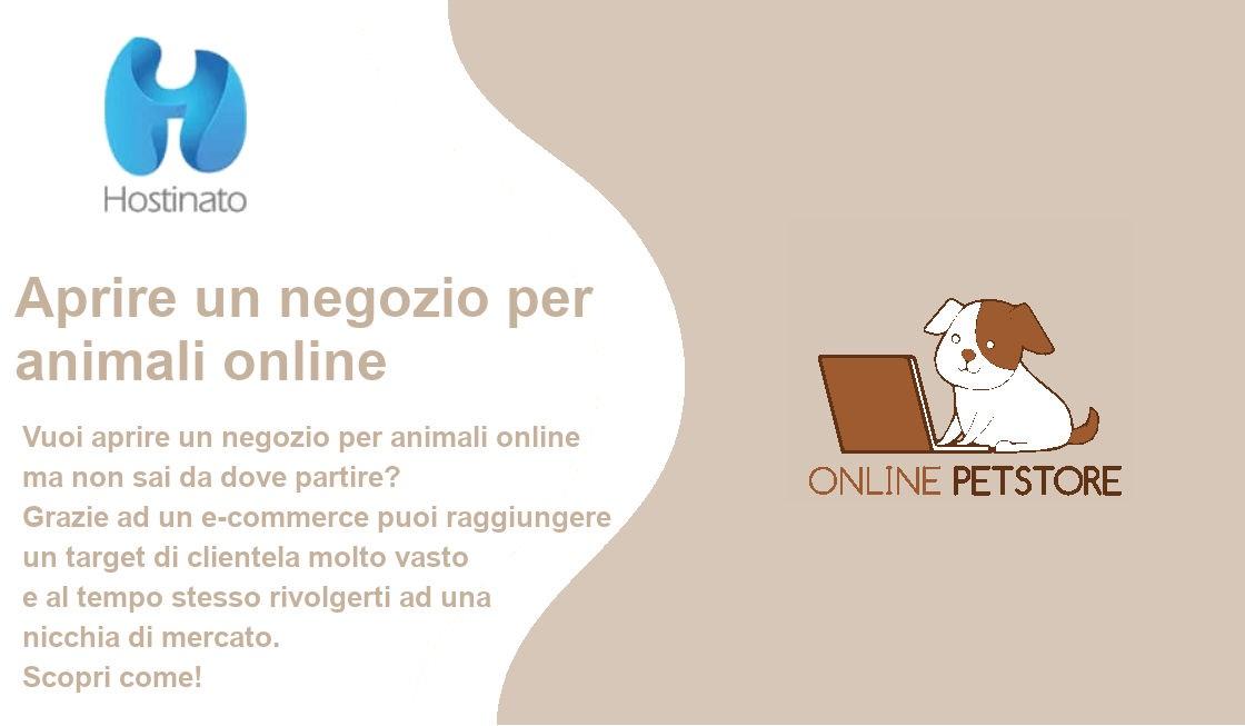 aprire negozio animali online