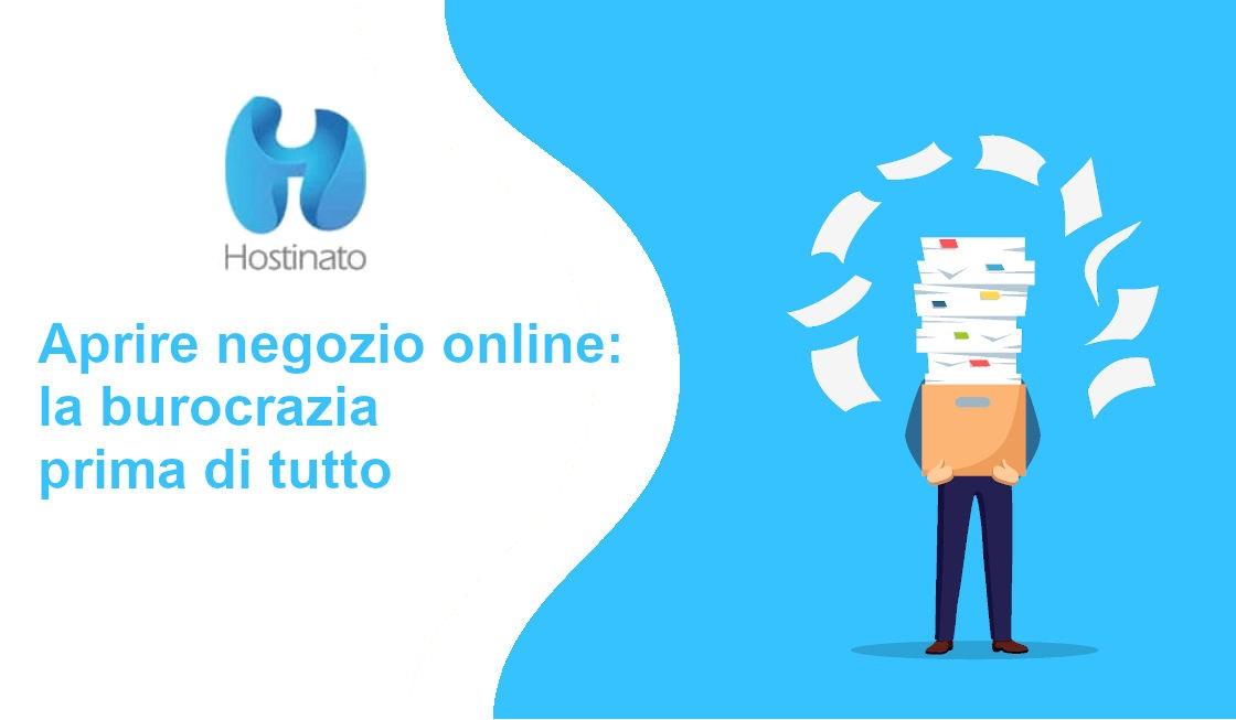 aprire negozio online burocrazia