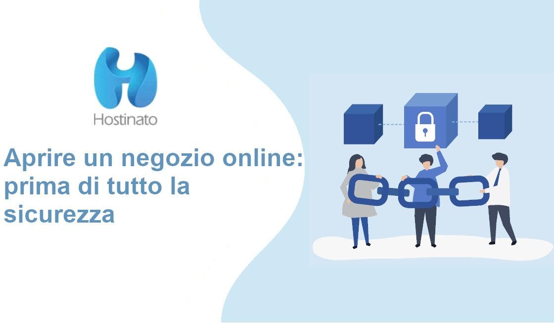 aprire negozio online sicurezza