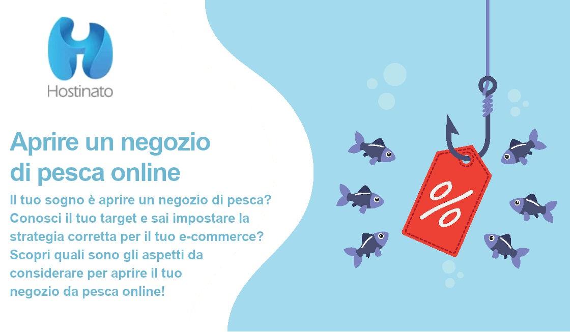 aprire un negozio di pesca online