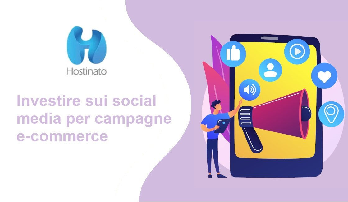 investire su social media campagne e-commerce