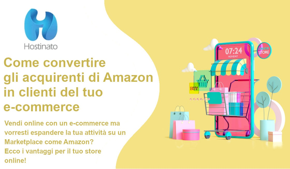 convertire acquirenti amazon in clienti e-commerce