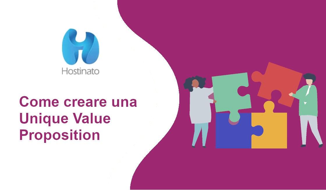 come creare unique value proposition