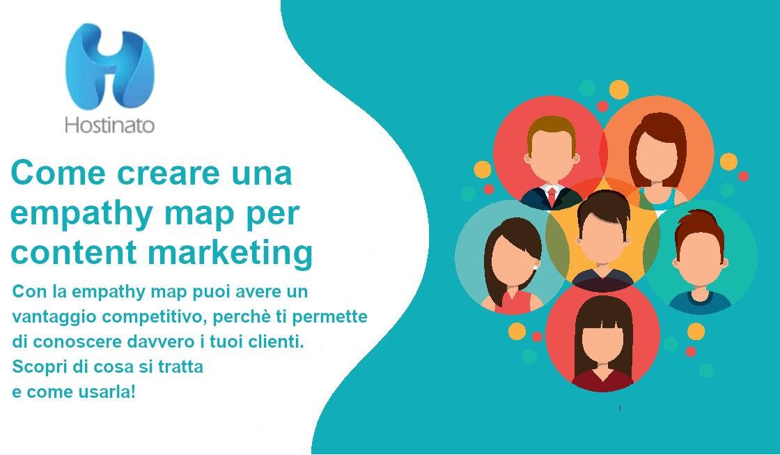 creare una empathy map content marketing