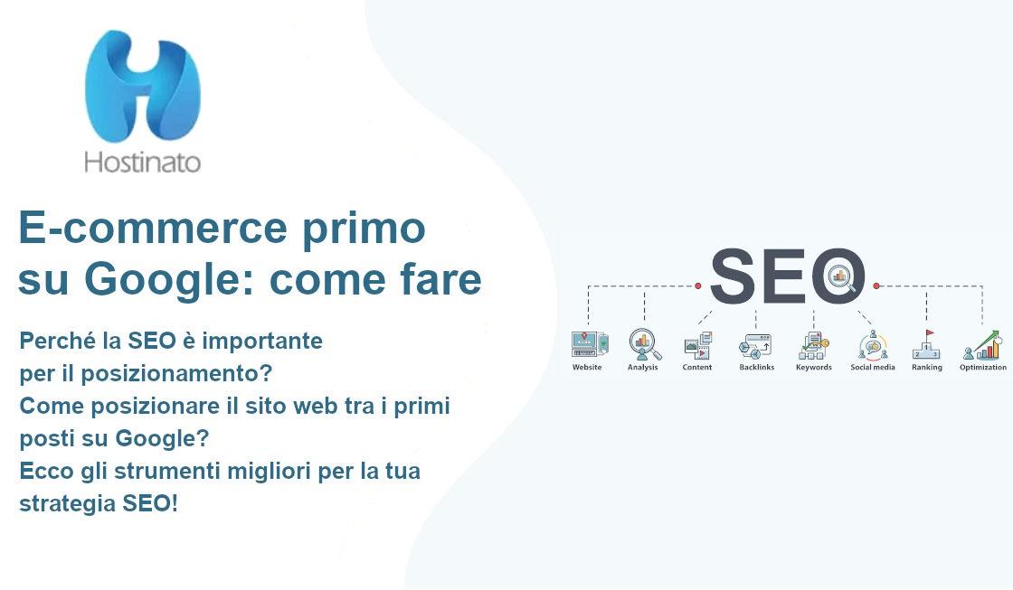 E-commerce primo su Google: come fare