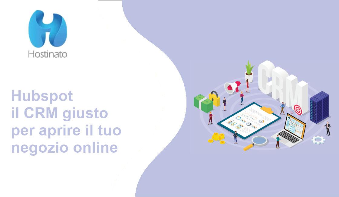 CRM Hubspot negozi online