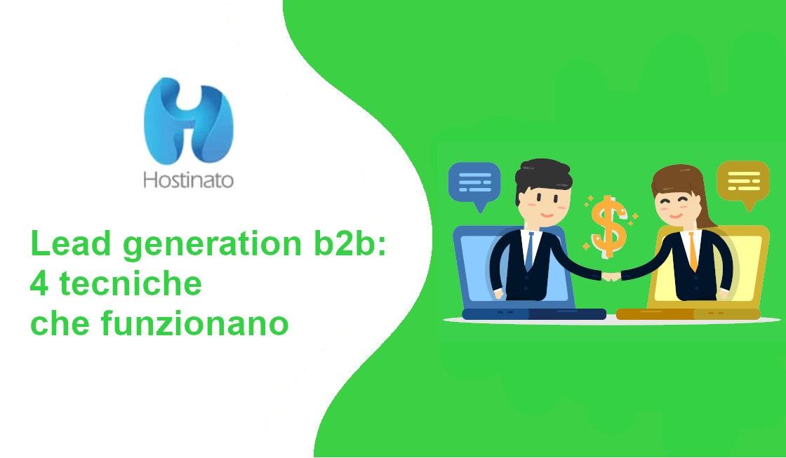 lead generation b2b 4 tecniche