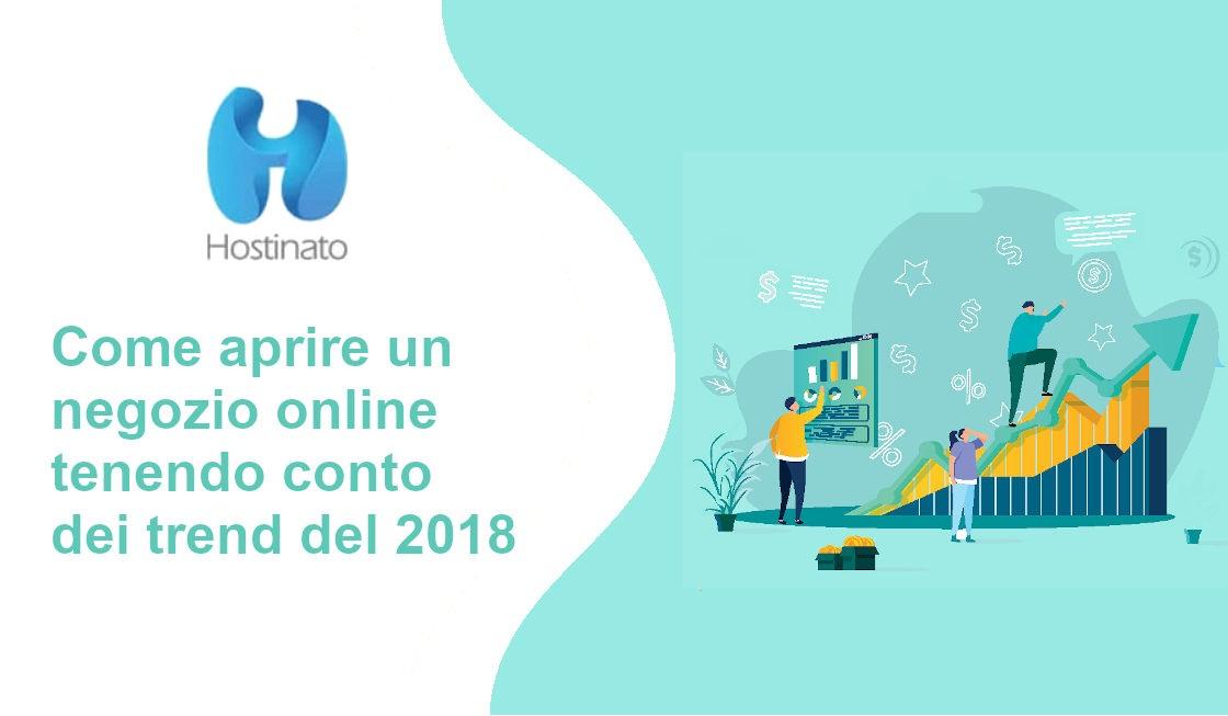 negozio online trend 2018