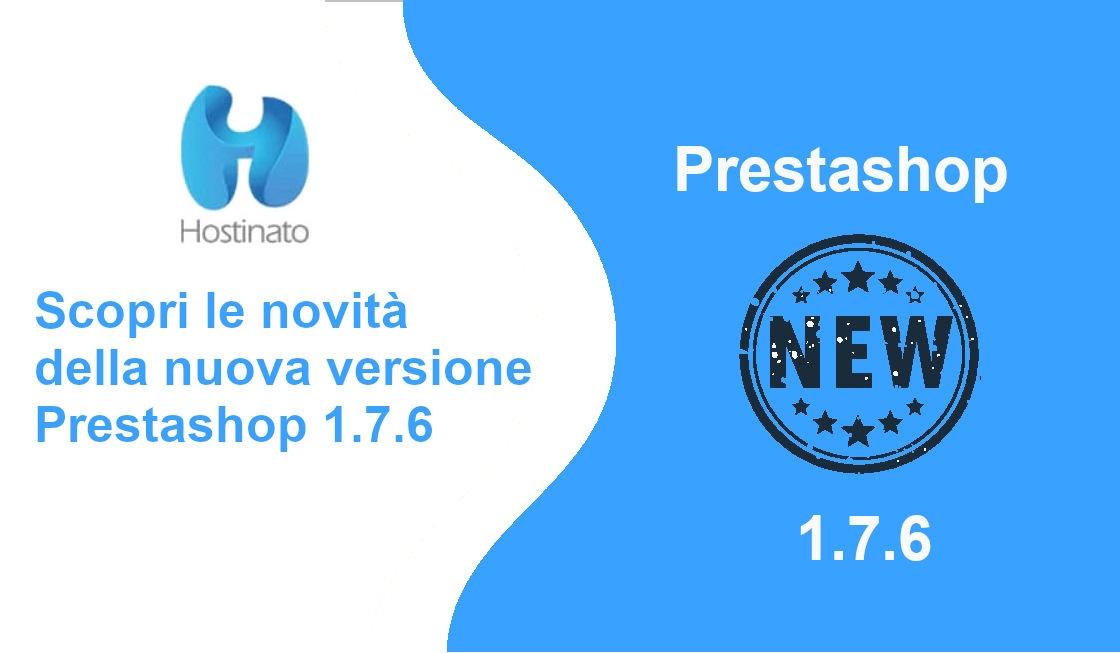 nuova versione Prestashop 1.7.6