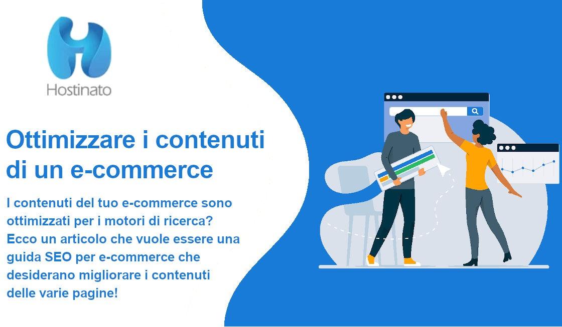 ottimizzare contenuti di un e-commerce