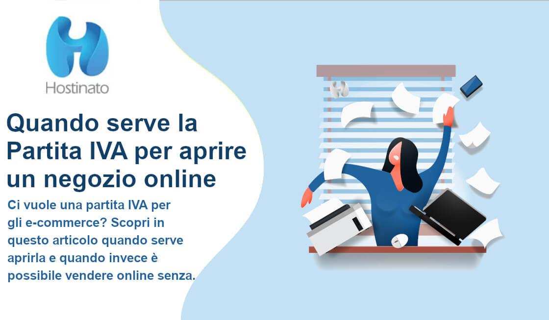 Quando serve la Partita IVA per aprire un negozio online
