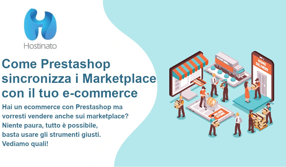 Come Prestashop sincronizza i Marketplace con il tuo e-commerce