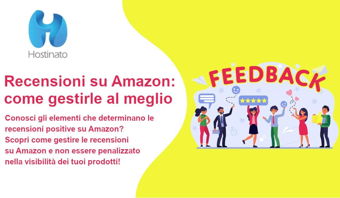 Recensioni su Amazon: come gestirle al meglio