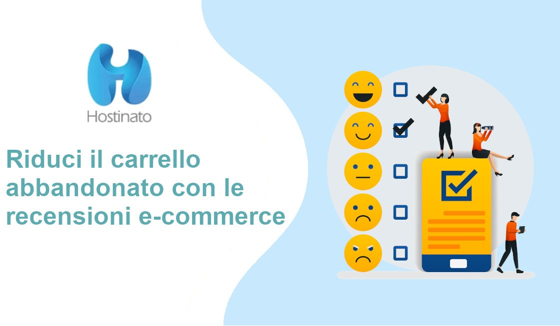 recensioni e-commerce per carrello abbadonato