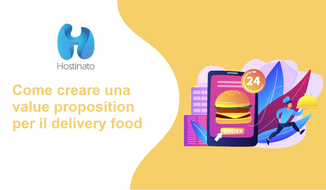 value proposition per il delivery food