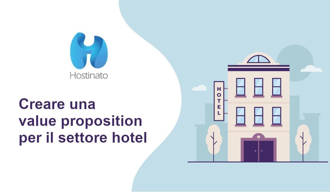value proposition per il settore hotel